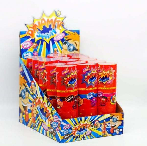 Explosive Candy-Sprays mit Blinkeffket von Drop Shop Schwandtner