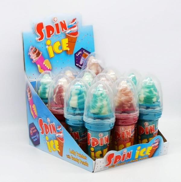Lutscher in Form einer Soft-Eiswaffel mit extra Candeperlen von Drop Shop Schwandtner