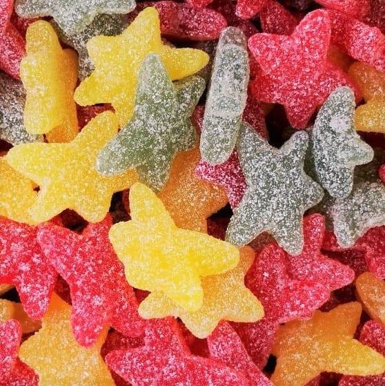 Saure Sterne mit Fruchtgeschmack von Drop Shop Schwandtner