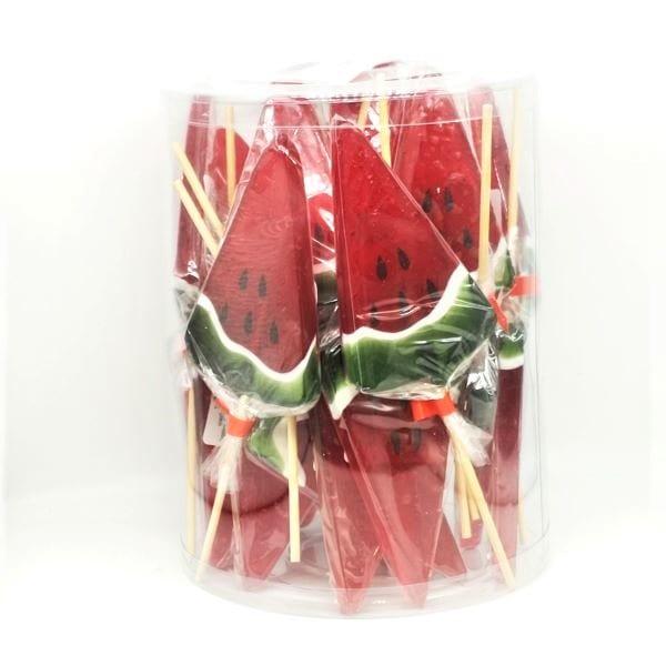 Lollipop mit Wassermelonen-Geschmack