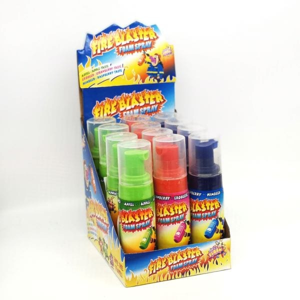 Candy Schaum-Spray in Feuerlöscher-Optik von Drop Shop Schwandtner