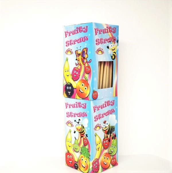 Fruity Straw Brausepulver Stangen von Drop Shop Schwandtner