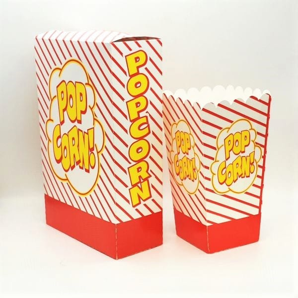 Popcorn-Boxen Set von Drop Shop Schwandtner