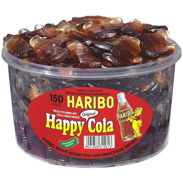 Haribo Happy Cola Flascherl von Drop Shop Schwandtner