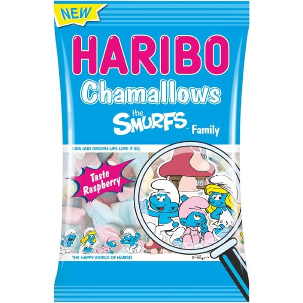 Haribo Chamallows Schlümpfe von Drop Shop Schwandtner