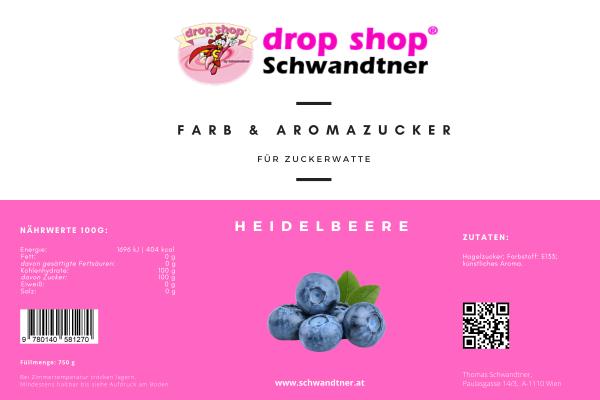 FARB & AROMAZUCKER - BLAUBEERE